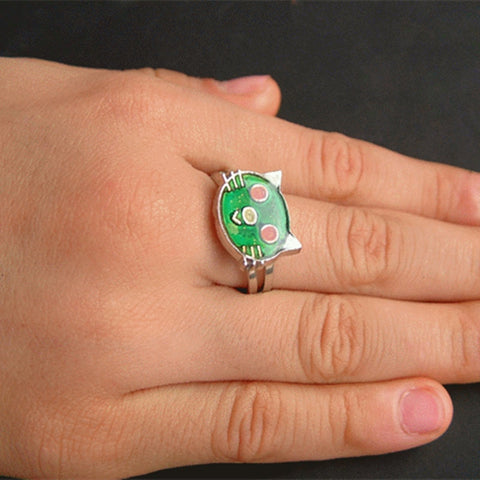 Cat Ring - Mood Ring