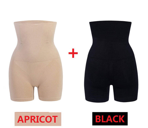 NINGMI Sexy Butt Lifter Women Slimming Shapewear Tummy Control Panties High Waist Trainer Body Shaper Boyshort Tight Power Short