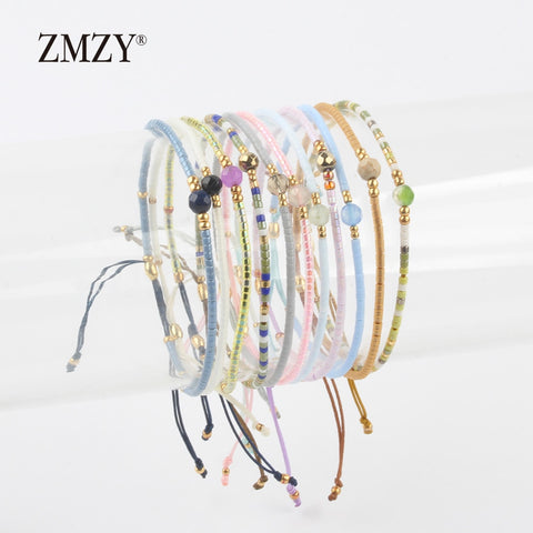 ZMZY Miyuki Delica Seed Beads Women Bracelets Friendship Jewelry Fashion Diy Bijoux Femme Simple Bracelets Drop Shipping