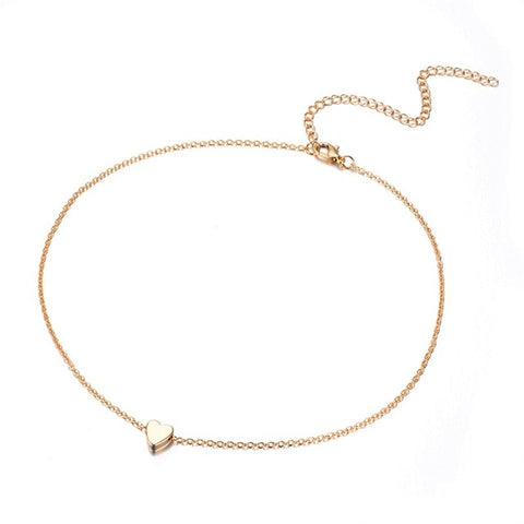 Ailend design simple multi-layer chain necklace new gift 2019 ladies necklace trend