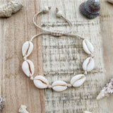 IF YOU Sea Shell Earrings For Women Gold Color Trendy Metal Shell Cowrie Statement Dangle Earrings 2019 New Summer Beach Jewelry