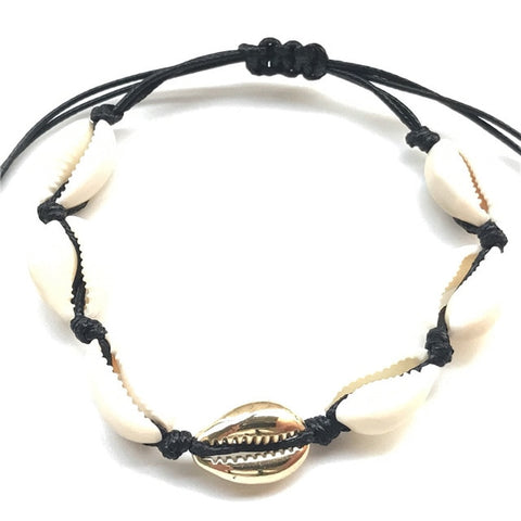 2019 Fashion Gold Cowrie Shell Choker Necklace for Women Girl Bohemian Seashell Beach Summer Jewelry Gift