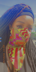 Face Scarf Bandana  (cotton mix)