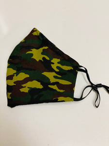 Camouflage mask (light weight poplin)