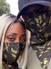 Load image into Gallery viewer, Camouflage Face scarf Bandana