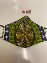 Load image into Gallery viewer, African/Ankara  Julius Holland wax print mask