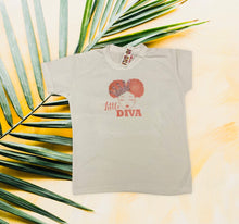 Load image into Gallery viewer, Little Diva sublimation Tee