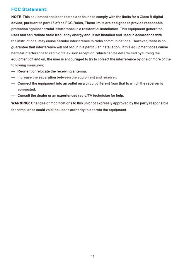 Heritage Smart Ceiling Fan by Carro USA Inc. Installation Manual - Page 11
