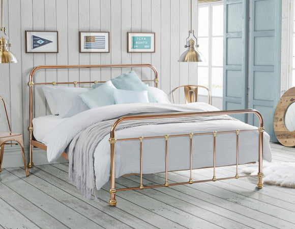 Madrid Copper-Plated Bed