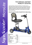 SupaScoota MicroLite Product Description