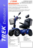 TREK EVOLUTION 4 Mobility Scooter PDS