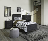 Ballina Bed Suite with Bedsides and Tallboy - Single in Black
