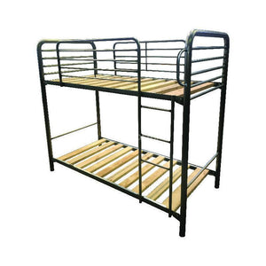 BT D-Deka Commercial Single Metal Bunk in Black