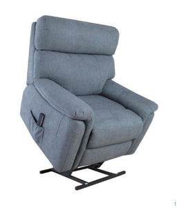 Colorado Dual Motor Lift Chair/Recliner (with optional Lumbar) in Grey