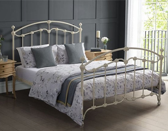 Katrina Cast Iron Bed