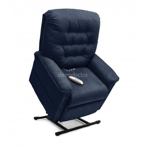 LC-358 Lift Chair by Pride Mobility - Extra Large. In Dark Blue.