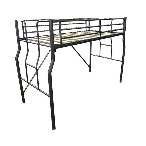 Metal Single Loft Bunk