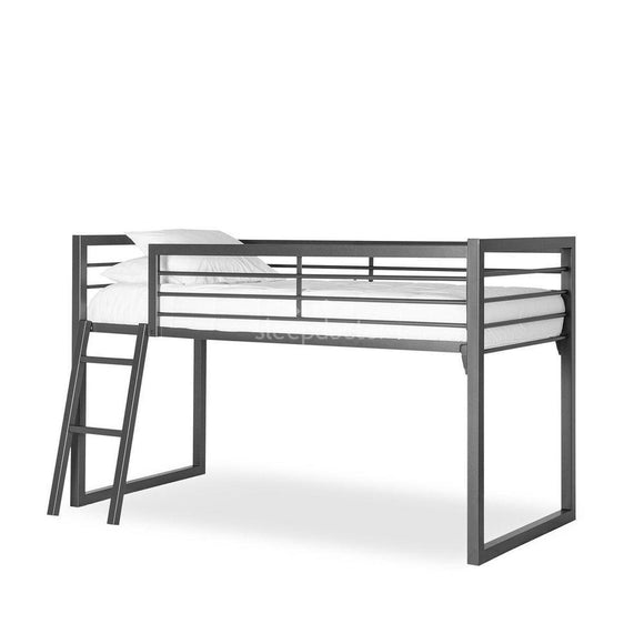 Nash Cabin Metal Loft Bunk Bed