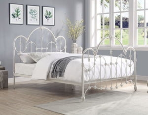 Normandy Cast-Iron Bed.