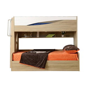 Olive Bunk Bed with Gas-Lift and Tallboy