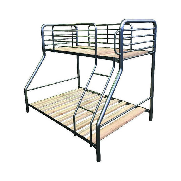 Trio Single-Over-Double Metal Bunk