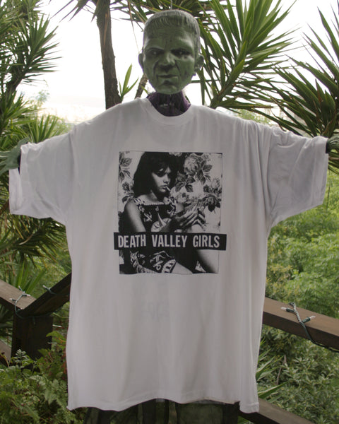 Death Valley Girls Tina Aumont White Tee
