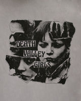 Death Valley Girls Collage Girl White Tee