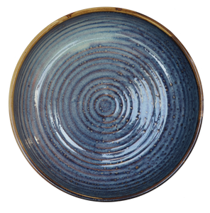 Azul Deep Plate with Upstanding Rim Ø22 x 5cm