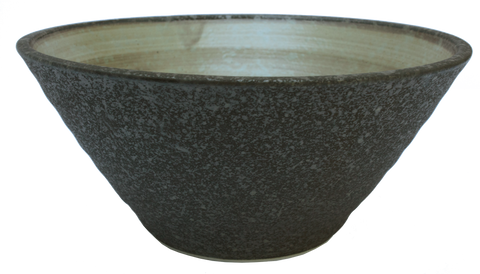 Wood Trunk Deep Bowl Ø19.5 x 8.8cm - Brown / Yellow