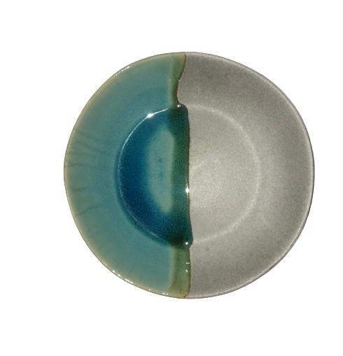 Moonlight Grey Pasta Plate Ø22 x H:5cm
