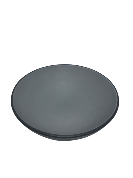 Obsession Melamine Bowl 11cm  H 6.4 cmTwo tone Grey & Black Matt