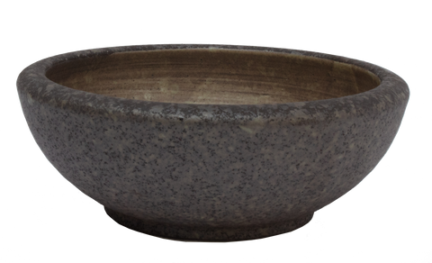 Wood Trunk Bowl Ø23.5 x 7.9cm - Black / Green