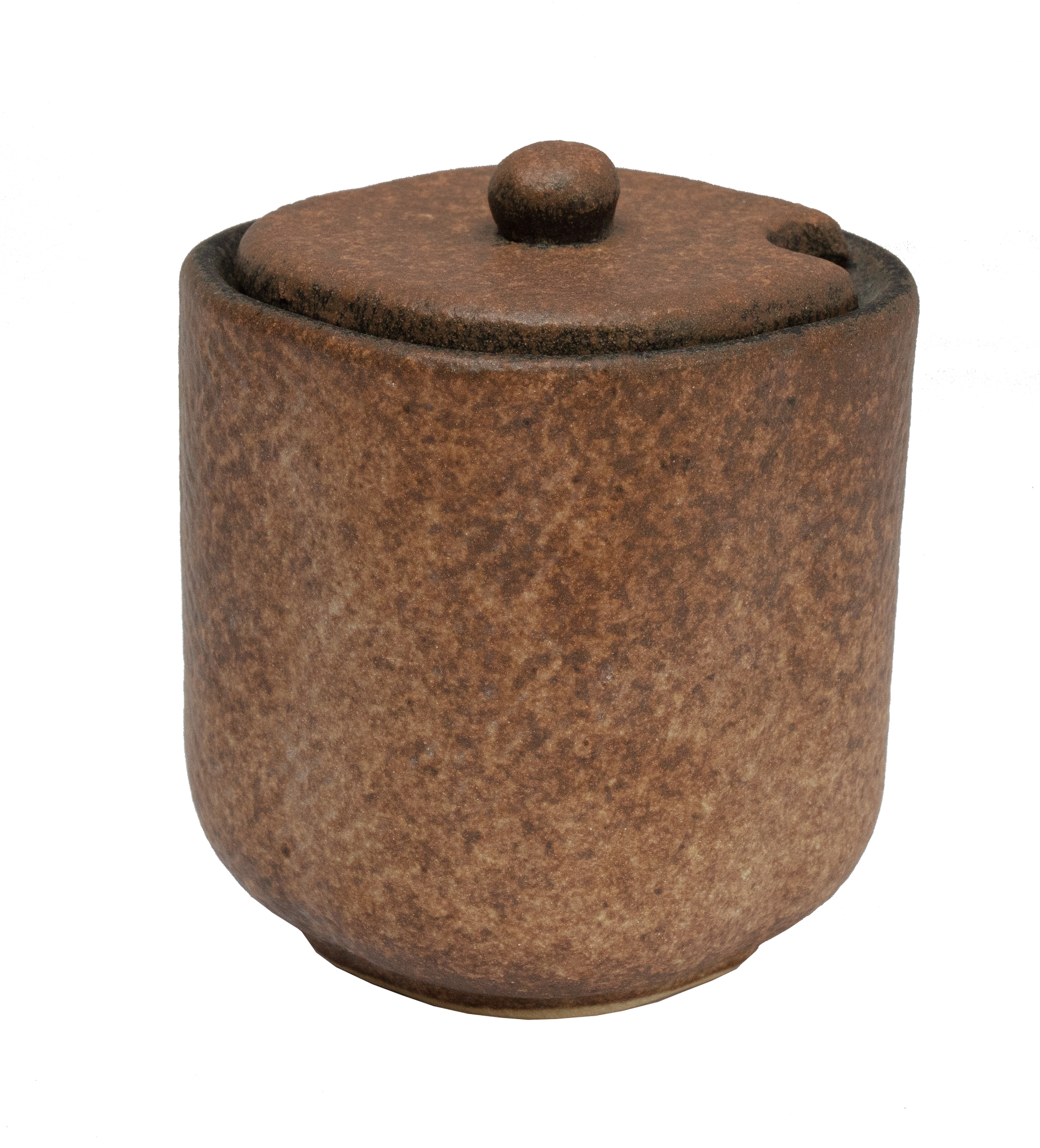 Earth Sauce Pot With Lid 125ml - Stone Age Gold