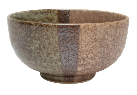 Earth Small Deep Bowl Ø14 x H:7cm - Forest Green / Light Brown
