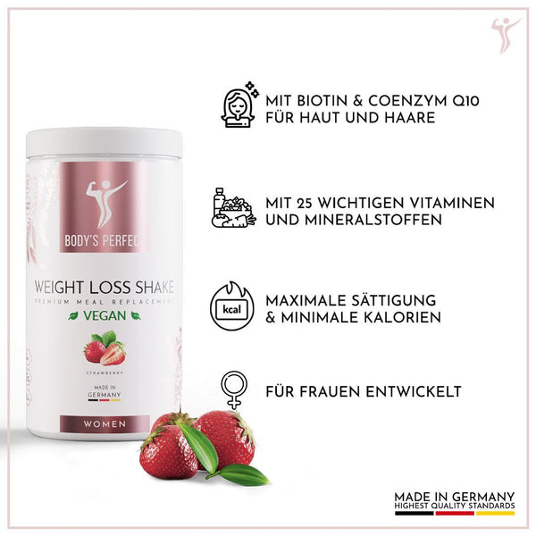 Weight Loss Shake VEGAN - für Frauen