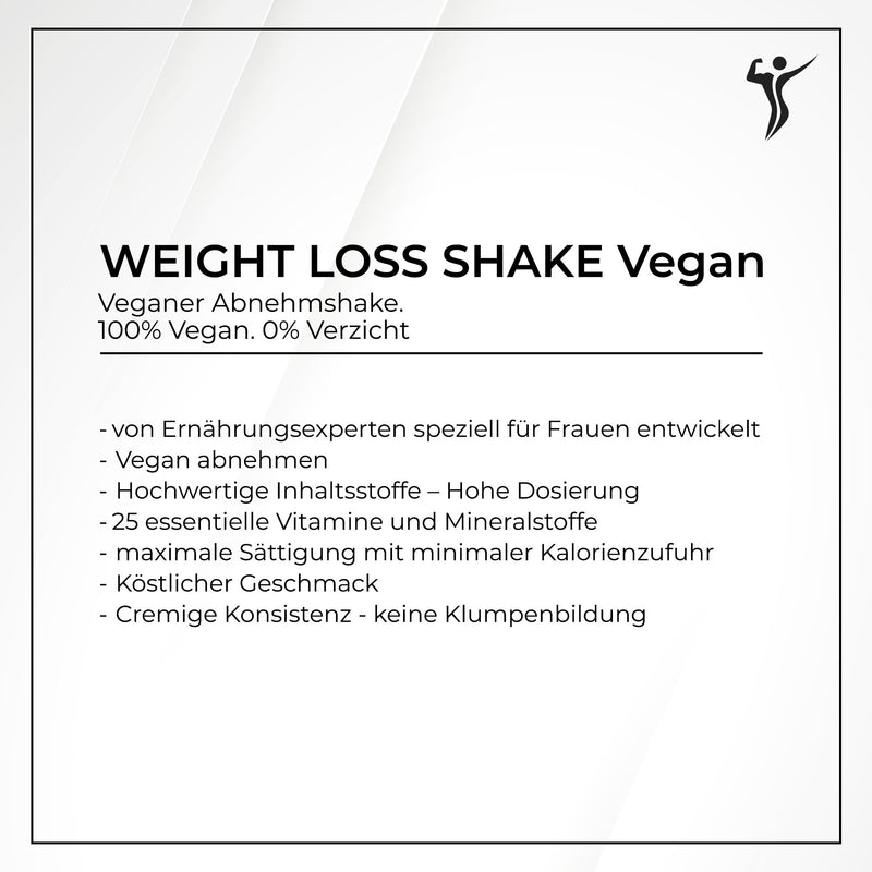 VEGAN Weight Loss Shake - für Frauen