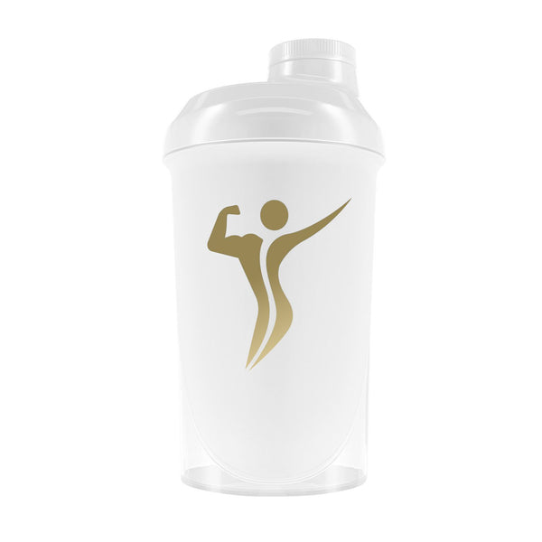 Shaker weiß 500ml  - Body\'s Perfect GmbH