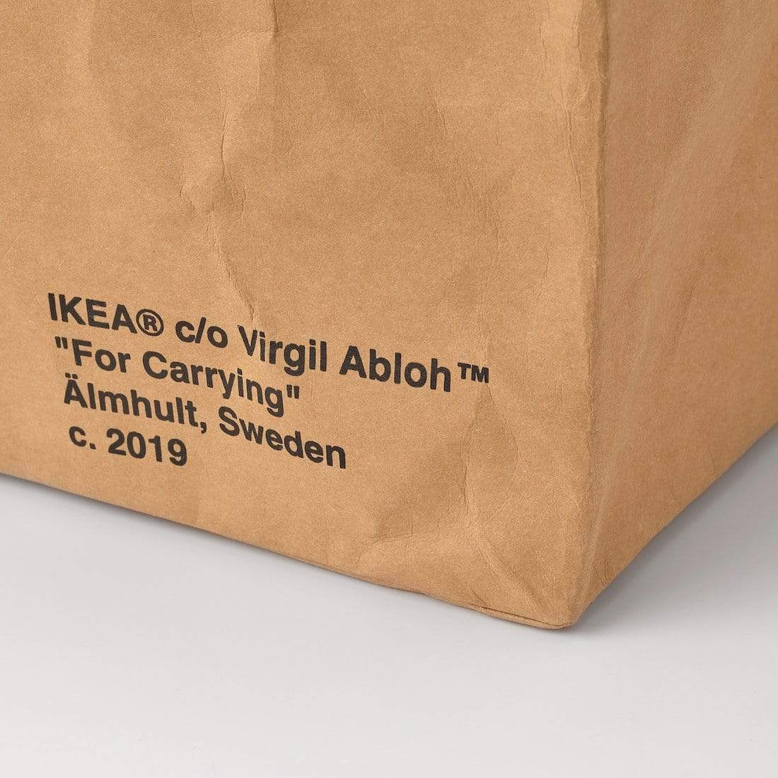 Virgil Abloh x IKEA MARKERAD Large Bag Brown - Kick Game