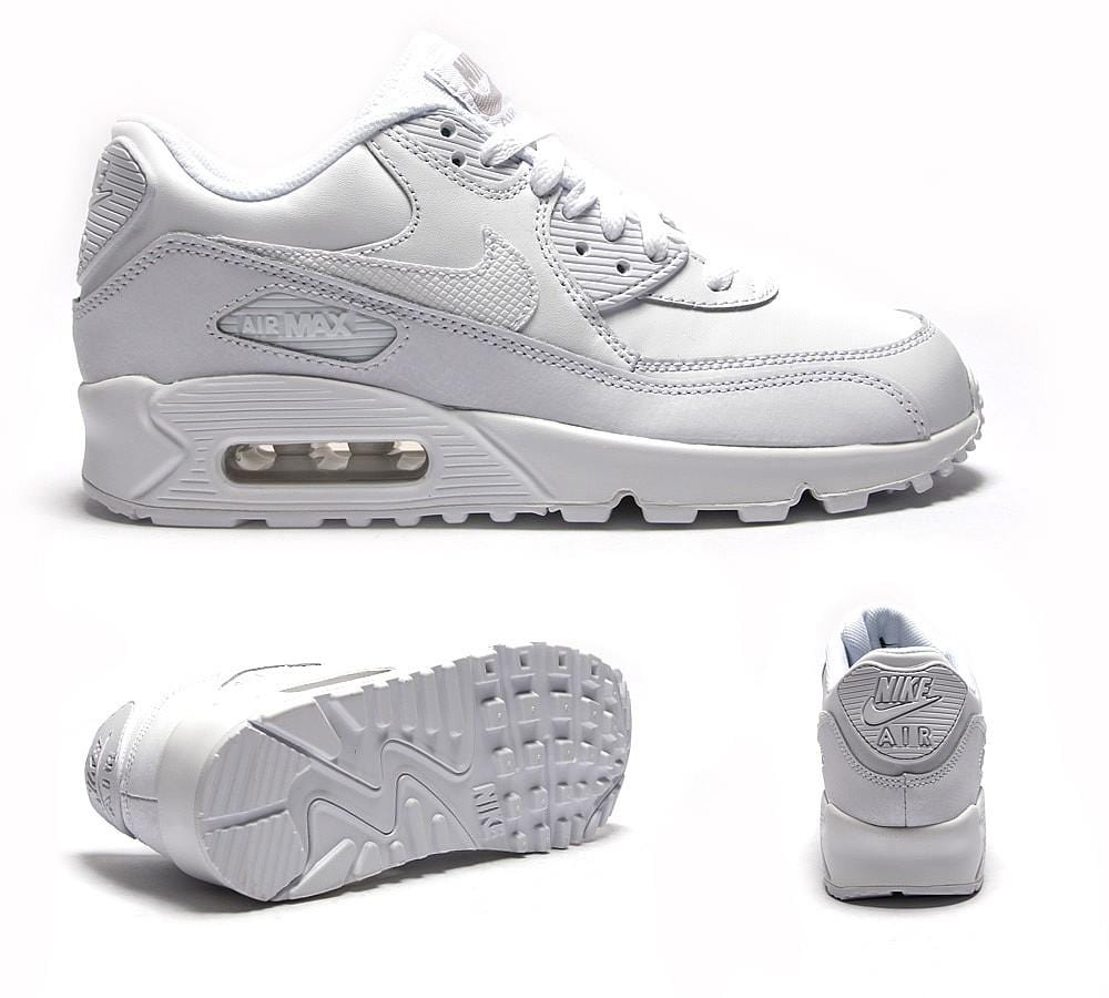Nike Air Max 90 Junior 'White' - Kick Game
