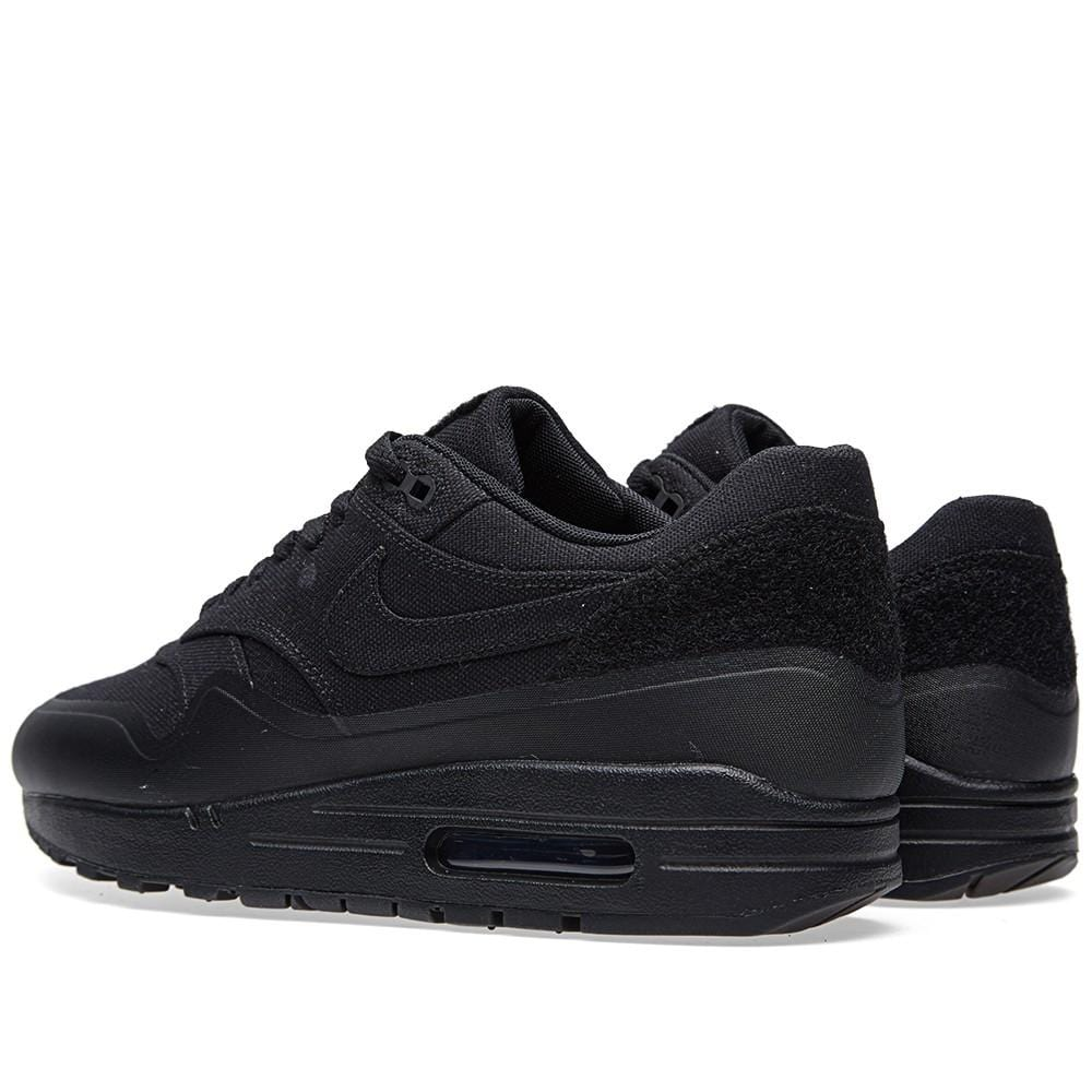 NIKE AIR MAX 1 V SP PATCH BLACK Nike Air Max 1 special patch 704901 001