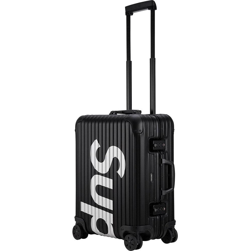 Supreme RIMOWA Topas Multiwheel 45L Black - Kick Game