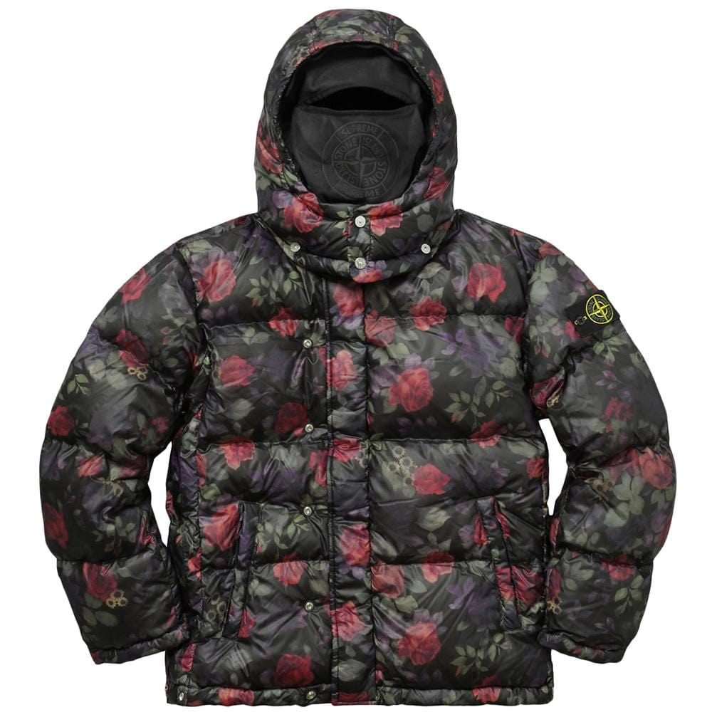 684725f1c STONE ISLAND FOR SUPREME LAMY COVER Down Jacket in Black – Kick Game