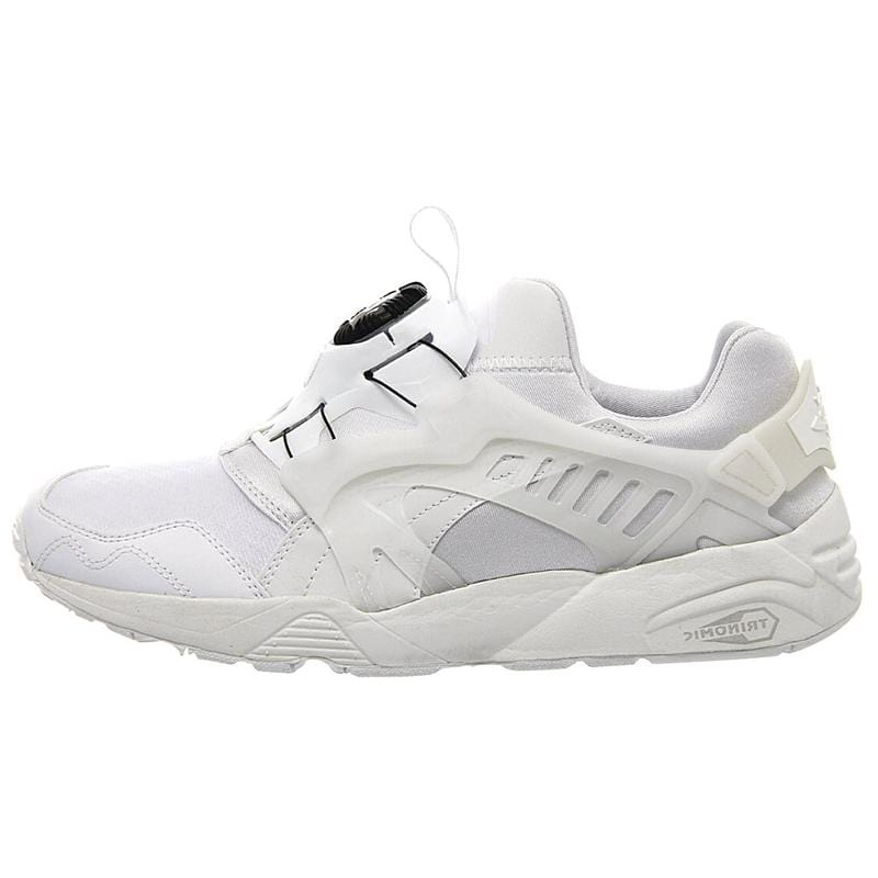 Puma Trinomic Disc Blaze 'All White' - Kick Game