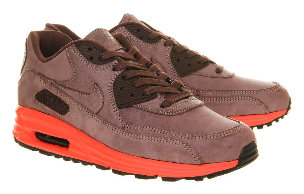 Nike Air Max Lunar 90 Prm Mahogany Bright Crimson QS - Kick Game