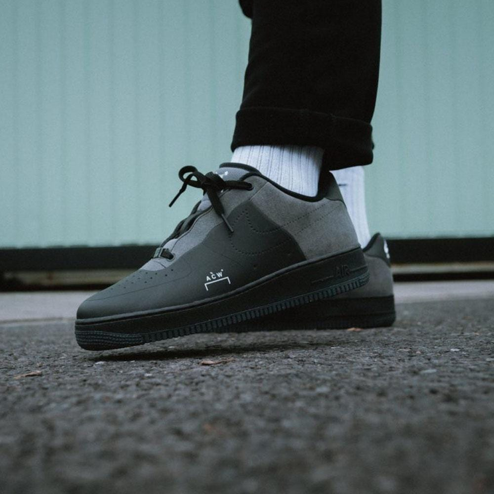 new styles e6ff6 8a14b A COLD WALL x Nike Air Force 1 Low Black