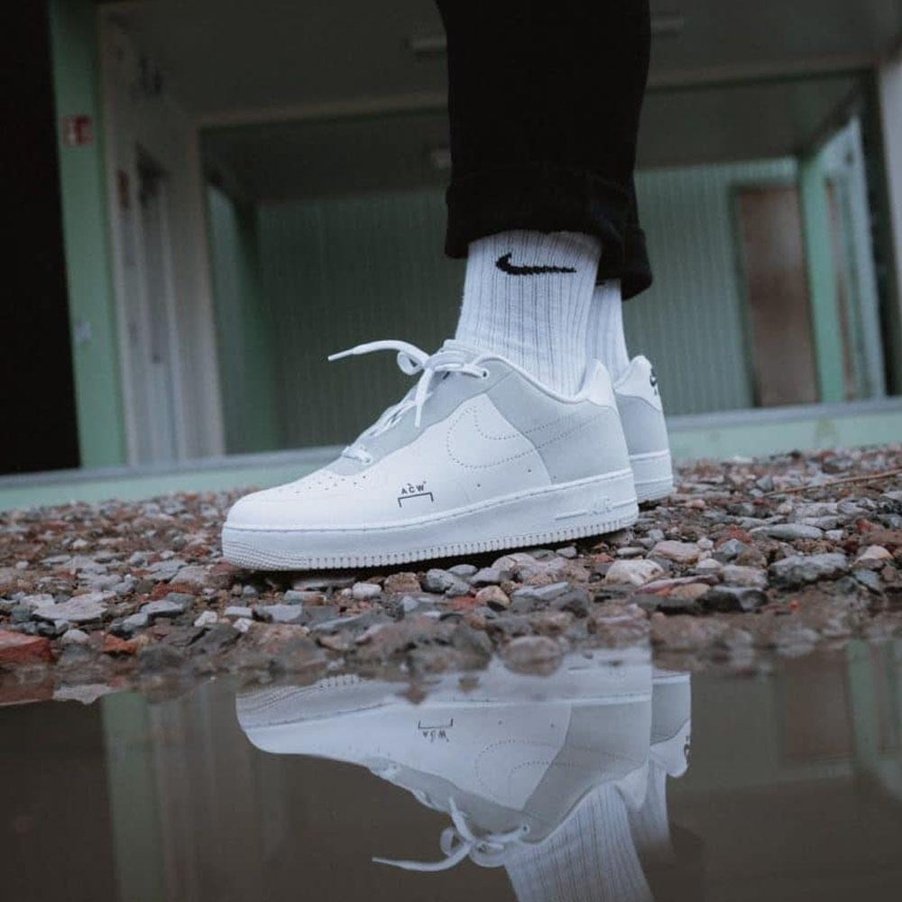 low priced e1c41 2d52b A COLD WALL x Nike Air Force 1 Low White
