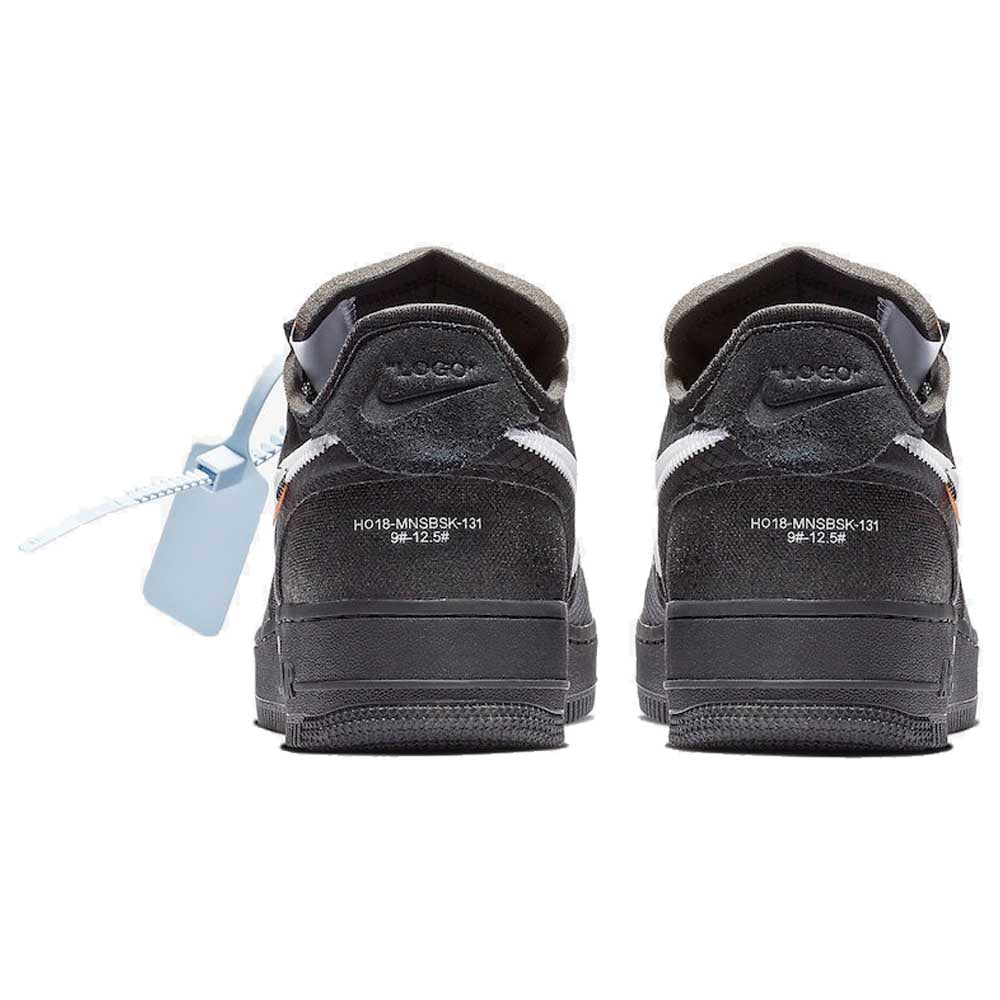 Off-White x Nike Air Force 1 Black - Kick Game