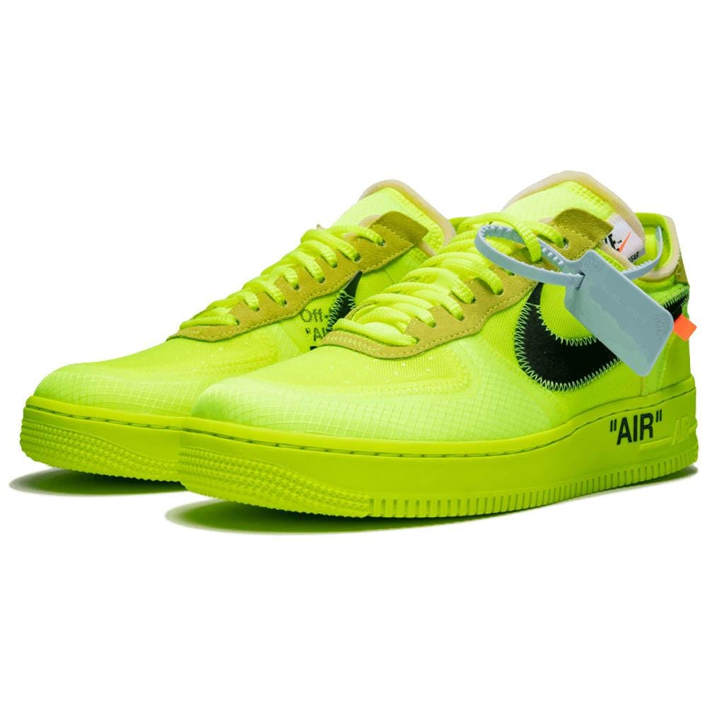 Off-White x Nike Air Force 1 Volt - Kick Game