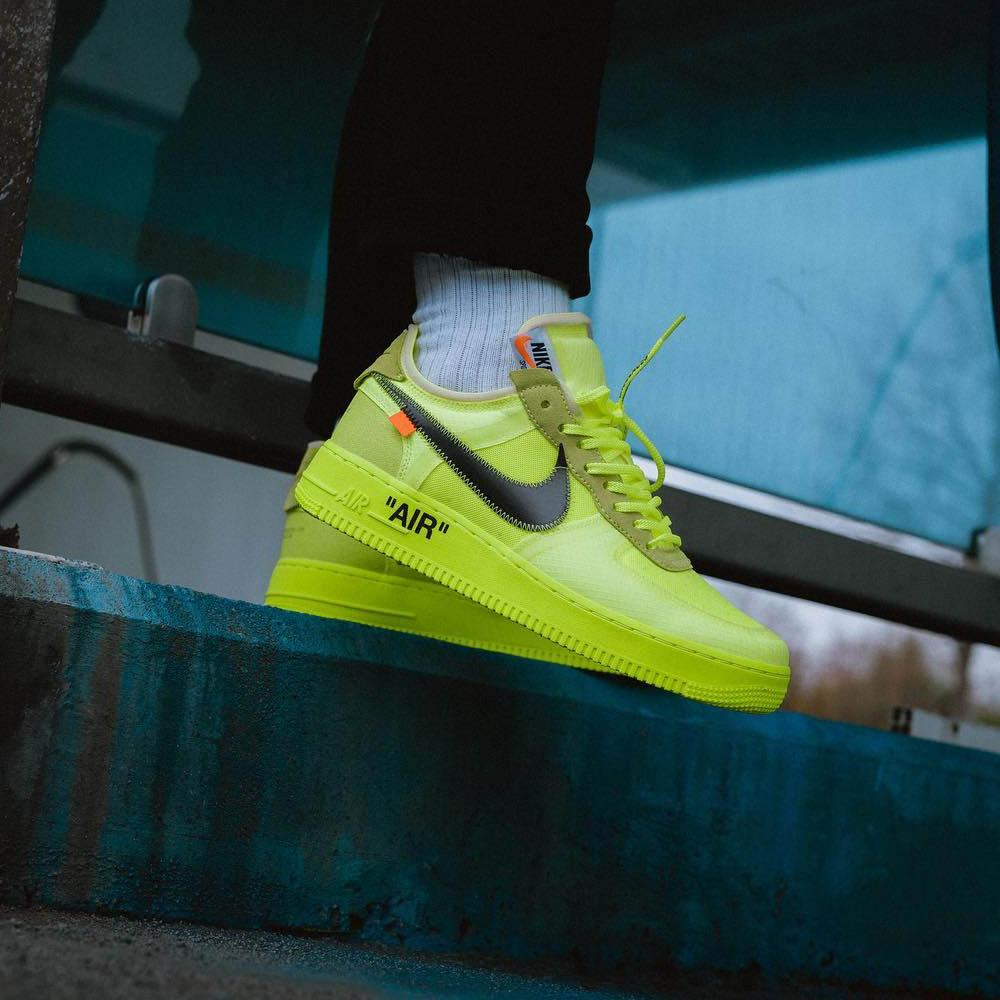 Off-White x Nike Air Force 1 Volt