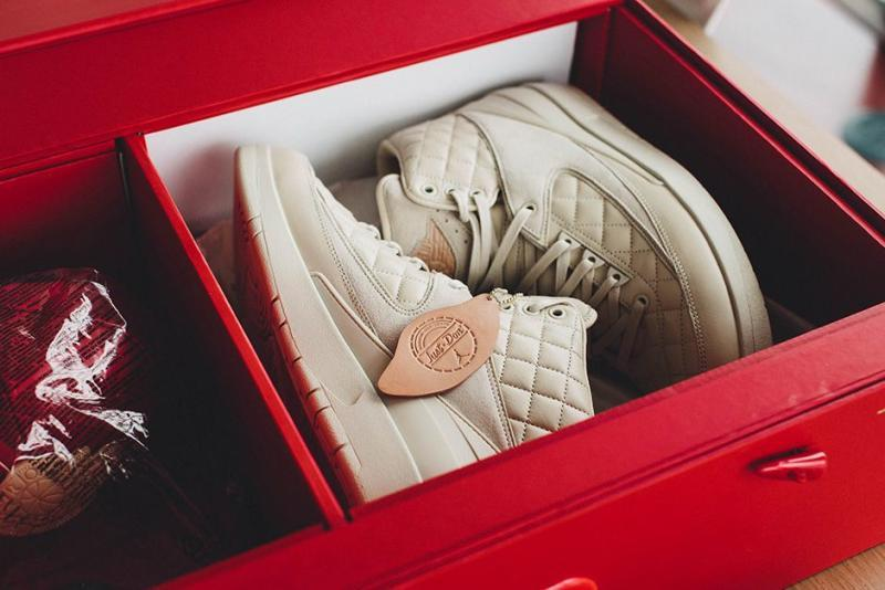 "AIR JORDAN 2 RETRO JUST DON ""BEACH"" BOX SET - Kick Game"